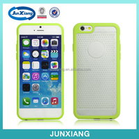 TPU & PC slim fit silicone mobile phone cover for iphone