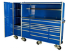 """Us general tool box parts tainless steel 72"""" powder coated tool box trolley wih wheels rolling"""