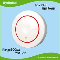 2.4G MIMO 4SSID 300Mbs wireless ceiling AP, AP client, wireless AP for Hotel