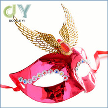 Alibaba wholesale halloween magnetic plastic plain masks