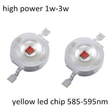 Hot sale high quality epistar 3w yellow high power leds