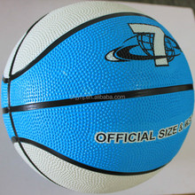 Bottom price hot selling yellow new design rubber basketball