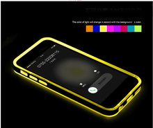 Led light flash case for iphone 6 6 plus 5s, Hot rock bumper case for iphone 6 plus tpu