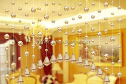 customized crystal bead curtain, machine cutting crystal bead curtain, wholesales crystal bead curtain