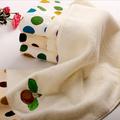 Atacado baratos promocionais impressos CEM algodão toalhas com tecido estampado