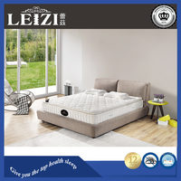2015 Best Selling Double Pillow Top Orthopedic Latex Mattress