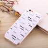 Supply all kinds of custom tpu case,hybrid tpu and pc case,wholesale factory pc and tpu cell phone case for iphone 6S