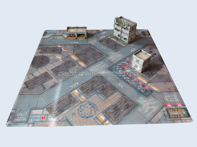 Large Size Neoprene Play Mat Urban Commando Battle Mat
