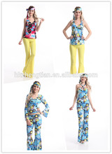 Leading China Factory S-6XL plus sizeSexy Womens Ladies 60s 70s Retro Hippie Hippy Costumes Party Made in Chinainstyles fancy d