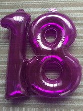 advertising Inflatable numbers inflatable custom shape numbers for sale