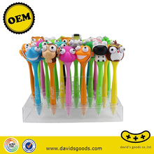 new arrival cheap animal toy ball pen for kids