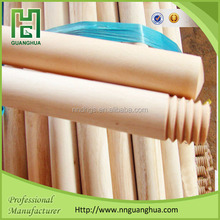 Chinese broom stick, 100% natural /varnished/pvc coated wooden broom stick with top quality