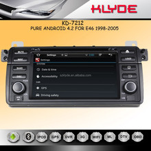 new items multimedia car entertainment system for E46 wth android remote control