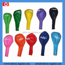 wholesale one sided one color latex ballons with print