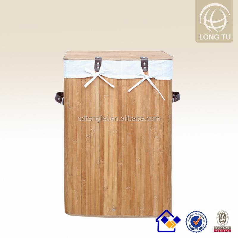 Cesto del lavadero doble ropa sucia canasta clasificador - Cestos para ropa sucia originales ...