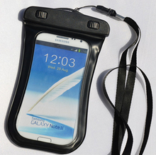 5.7 Inch Waterproof PVC Diving Bag Underwater Pouch Case For Samsung galaxy s5 For Samsung galaxy note 3 2 s4 fit for s6/s6 edge