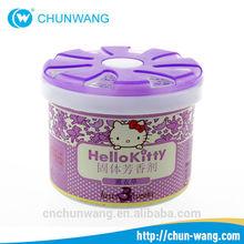 China supplier Popular 100g Adjustable Luxury car perfume/Solid air freshener car