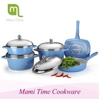 Lead melting pot for sale 12pcs cookware set