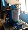 C50 high efficiency chicken manure compost bagging machine