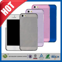 C&T 2014 new coming clear pc mobile accessory for iphone 5