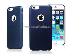 Smart Slim PU Leather Back Cover Case For iPhone 6 4.7'' 5.5''