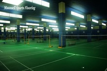 Badminton court used of PVC sport flooring/ PVC flooring Roll /PVC floor mats