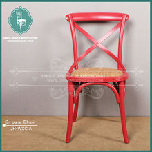 cross back french dining rattan chairs wooden cross back chair X chair