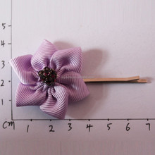 fashion handmade flower kids hairpin for party