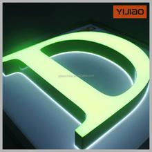 Shanghai energy saving acrylic letter