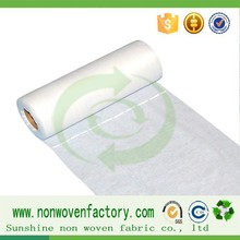 Good sell pre-cut non-woven with high quality, cut machine perforated fabric