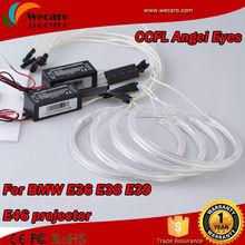 7000K Super bright CCFL Angel Eyes Halo Rings Light Lamp Kit for BMW E36 E38 E39 E46 3 5 7 Series