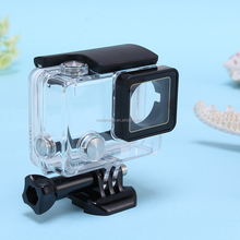 2015 New transparent Waterproof case for go pro camera