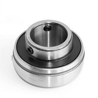 "UC216-50-TRL UC200 Series Insert Bearing, Relubricable, Set Screw Locking Collar, Triple Lip Seal, 3-1/8"" Bore, 32 mm Wide Inner"
