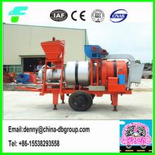 10t/h China manufacturer mobile mini asphalt mixing plant price SLB-10