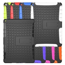 Factory direct sell the hybrid kickstand case for ipad air&air2, protective case