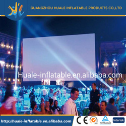 2016 Hot sale outdoor used inflatable movie screen for sale,inflatable rear projection screens