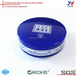 OEM ODM ISO ROHS SGS certified custom cheap glass bottle metal cover
