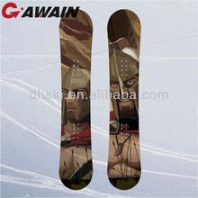 High Quality Winter Sport Bamboo Snowboard Equipment For Sale