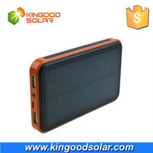 Solar energy battery rainproof portable solar charger 10000mah for all smart phones