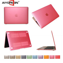 Hot Selling Colorful Translucent Frosted Hard Plastic Protective Case For Macbook 12 inch