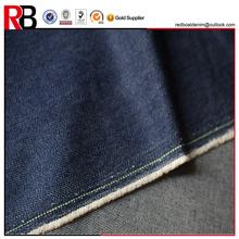 indigo denim fabric material uses for denim in los angeles market