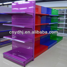 YD-008 Colorful Shelf Shop Shelf Supermarket Shelving Gondola Shelves Made In China