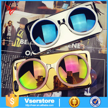 5.5 inch mobile phone case sun glasses popular 3d cell phone case