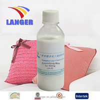 Textile Auxiliary Agent Emulsifying Wax for Sizing