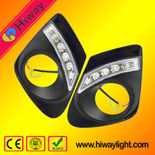 High brightness auto tuning light led drl lights for toyota corolla 2010-2013