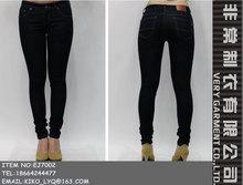 slim clásica damas pantalones skinny jeans de mezclilla para las mujeres