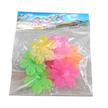 5150827-6 colorful plastic spinning top