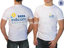 Men's 100% ring spun cotton t-shirt with printing