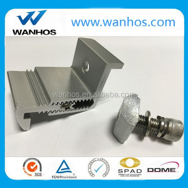 Solar PV Mounting Universal End Clamp