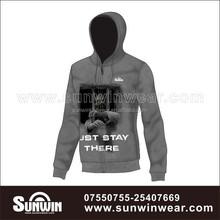 100%polyester brush back hoodie sweatshirt plus size /USA fashion sublimated winter hoodie jacket/ training tracksuit